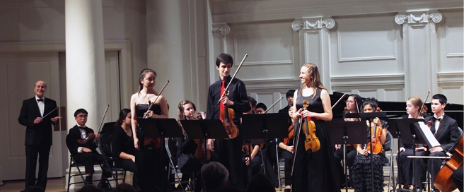 MIC Academy Musicians at Nichols Concert Hall