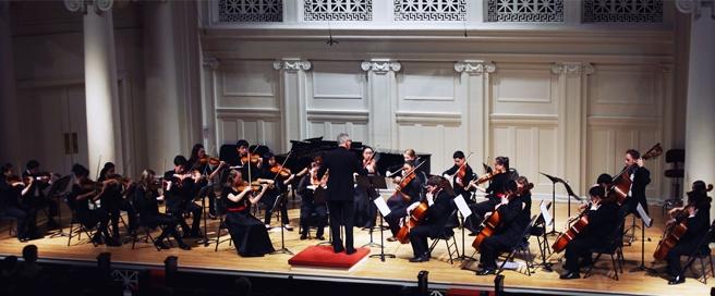 MIC Academy Jim Setapen Conducting at Nichols Concert Hall