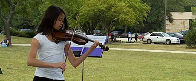 Chicago Suzuki Institute - Violinist