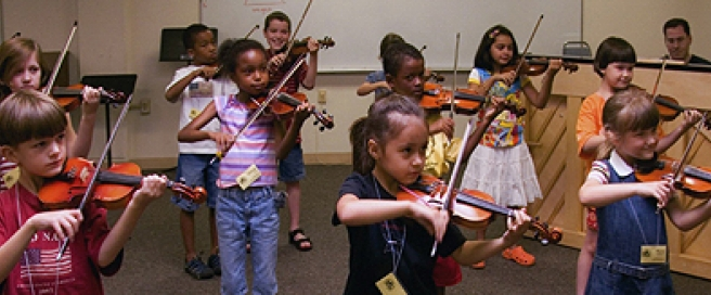 Chicago Suzuki Institute Student Program - Violins