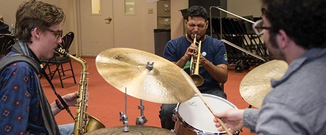 Music Institute of Chicago Jazz Studies photo copyright Elliot Mandel