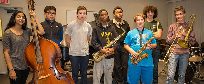 Jazz Studies at the Music Institute of Chicago Copyright Elliot Mandel Photography