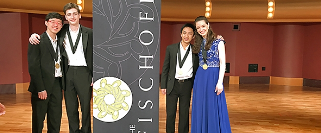Music Institute's Academy's Kairos Quartet wins Fischoff