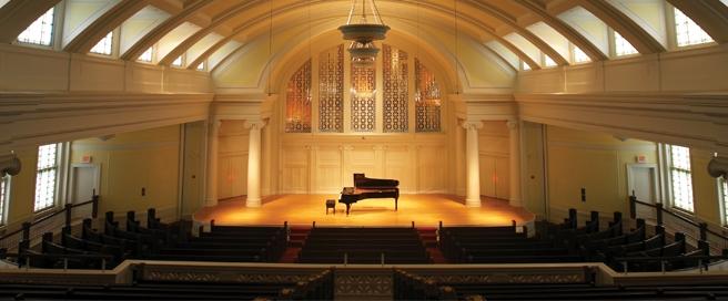 Nichols Concert Hall at MIC