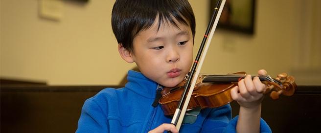 Suzuki Education at Music Institute of Chicago - Elliot Mandel Photography