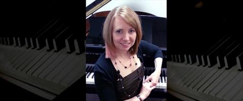 Teacher Spotlight on Aubrey Faith-Slaker, piano
