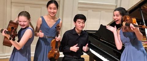 The Aurora Piano Quartet - Music Institute of Chicago Academy