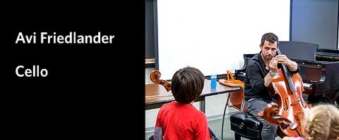Teacher Spotlight on Avi Friedlander, cello