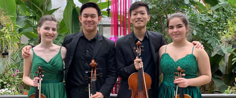 Music Institute of Chicago Academy Dasani String Quartet wins silver at 2020 Fischoff National Chamber Music Competition