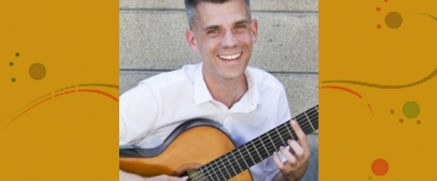 Music Institute Teacher Spotlight on Joel Spoelstra, guitar