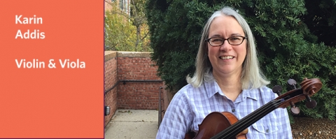 Teacher Spotlight on Karin Addis, Suzuki violin & viola