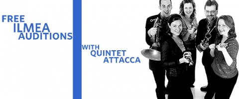 Free audition workshops for ILMEA with Quintet Attacca