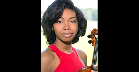 Music Institute of Chicago violinist Anya Brumfield performs with CYCO at Harris Theater