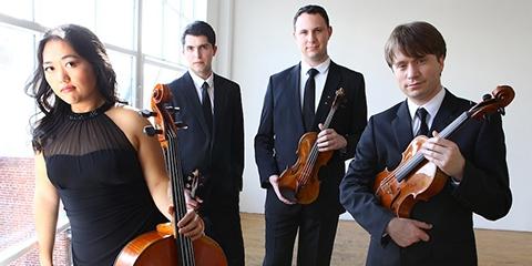 The Calidore String Quartet-Music Institute of Chicago Alumnus Ryan Meehan