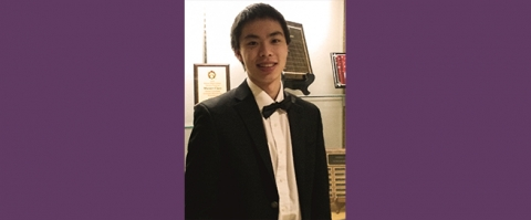 Music Institute student David Zhao wins Deerfield H.S. Concerto Competition