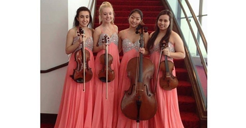 MIC Academy Quartet Etoile winners of 2015 MYA Discover National Chamber Music Competition