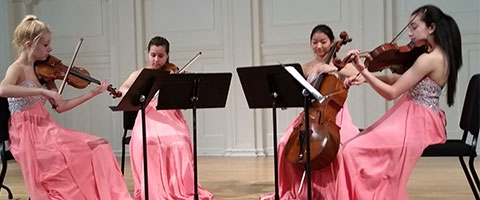 Quartet Etoile Music Institute of Chicago Academy