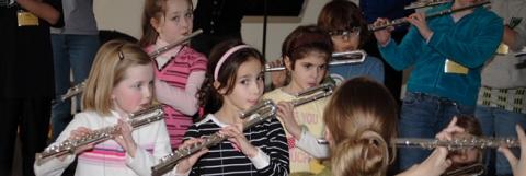 Suzki Flute Workshop Group