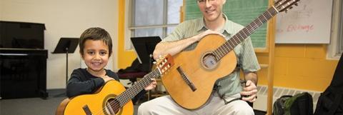Guitars at the Music Institute of Chicago - Elliot Mandel Photography