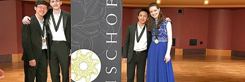Music Institute's Academy's Kairos Quartet wins Fischoff