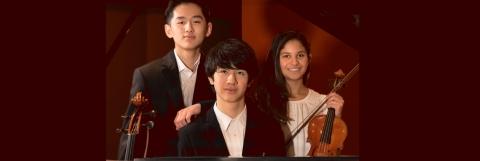 Music Institute's The Academy's  Trio Omorphia