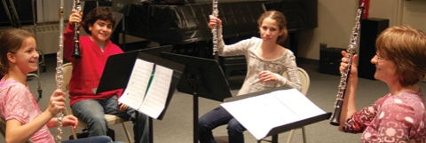 Woodwinds Chamber Music at the Music Institute of Chicago