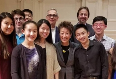 Music Institute of Chicago Academy student and NEA Chair Jane Chu