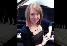 Teacher Spotlight on Aubrey Faith-Slaker, piano