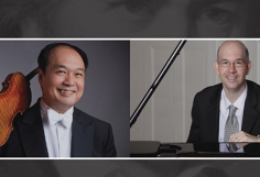 Violinist Robert Chen and pianist Matthew Hagle open the Nichols Concert Hall season Sunday, September 29 at 3 pm