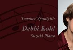 Teacher Spotlight on Debbi Kohl ~ March 2016