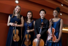 The Music Institute of Chicago Academy's Quartet Lumiere Wins at Fischoff
