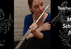 Teacher Spotlight on Maria Schwartz, flute
