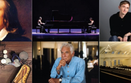 Chicago Duo Piano Festival at Nichols Concert Hall 1490 Chicago Ave, Evanston July 8-20, 2018