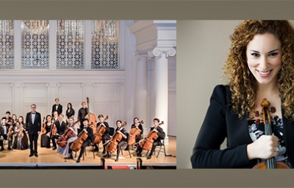 Violinist Ilana Setapen and the Music Institute of Chicago Academy Orchestra at Nichols Concert Hall in Evanston, IL