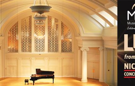 Live from Nichols Concert Hall Free Chamber Music Series at Music Institute of Chicago