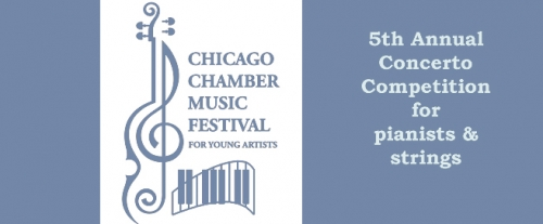 Music Institute Zachary Guo competes and wins Chicago Chamber Music Festival Concerto Competition